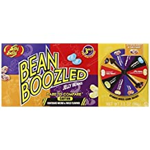 (1 PACK) Jelly Belly Bean Boozled Jelly Beans 3.5 oz with Spinner Wheel Game, 3rd Edition