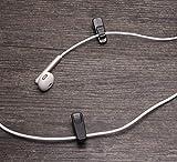 Mini Skater 1 Inch Length Small Earphone Wire Clip