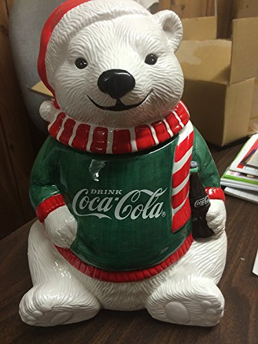IE JAR POLAR BEAR WITH GREEN SHIRT RED SCARF AND CAP 1995 LIMITED EDITION ()