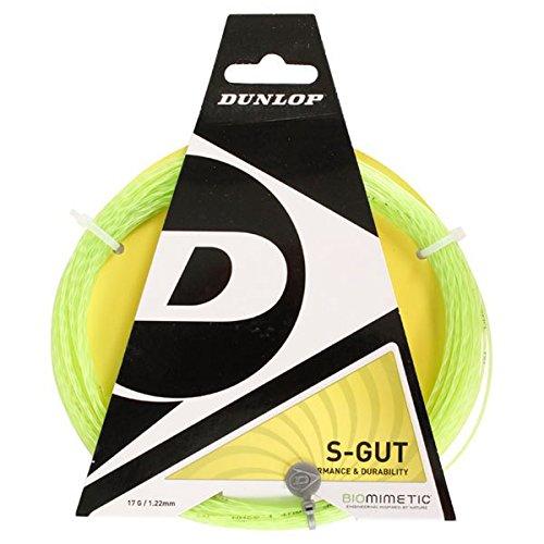 Dunlop Biomimetic S-Gut Tennissaiten 17 g, Grün