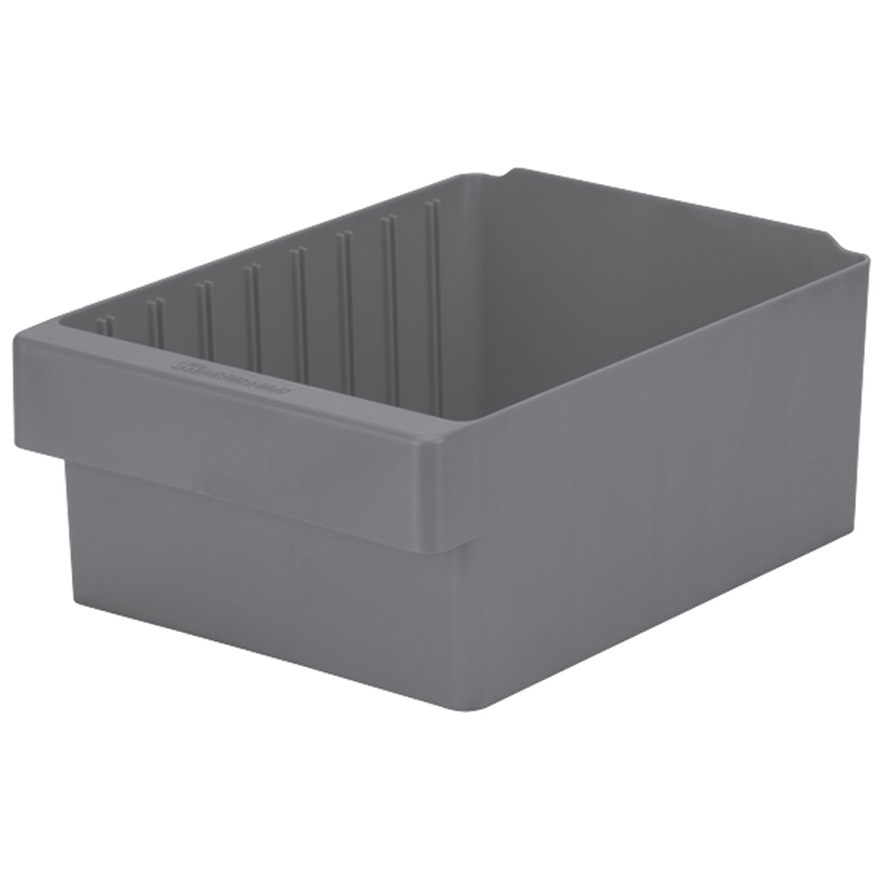 Akro-Mils 31188 AkroDrawer Plastic Storage Drawer, 17-5/8'' L x 8-3/8'' W x 4-5/8'' H, Grey, Case of 4