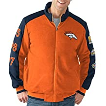 "Denver Broncos NFL ""Classic"" Men's Super Bowl Commemorative Varsity Jacket"