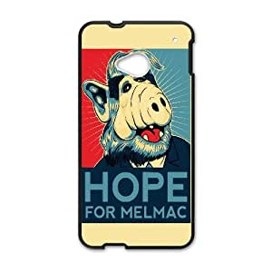 Hope For Melmac Funny HTC One M7 Cell Phone Case Black yyfabc-472733