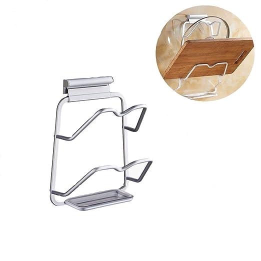 Estante para platos Home treats de esquina para armario o encimera color blanco