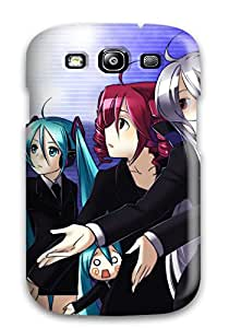 High Impact Dirt/shock Proof Case Cover For Galaxy S3 (vocaloid)