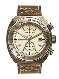 Szanto Men's SZ 4102 Szanto 4100 Series Analog Display Japanese Quartz Brown Watch