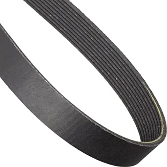 "Continental ContiTech 975L10 Poly-V Belt, 10 Ribs, 0.38"" Height, 0.185"" V-Width, 97.5"" Nominal Outside Length"