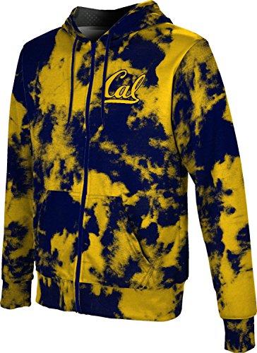 (ProSphere UC Berkeley Cal Men's Full Zip Hoodie - Grunge FCF81 (X-Large) )