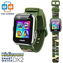 VTech Kidizoom Smartwatch DX2 Amazon Exclusive, Camouflage