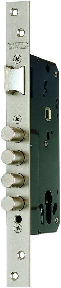 Lince 32403 Cerradura, Plata, 50 mm
