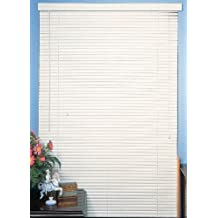 "New 5th Ave Collection 4 Pack of White Vinyl 1"" Mini Blinds - 48\"" Wide x 72\"" Long 4 Piece Case Pack"