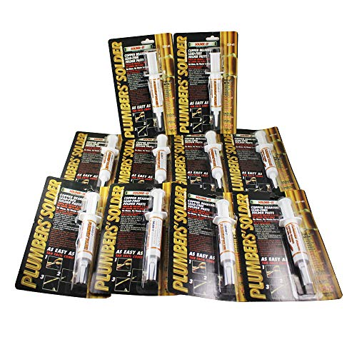 Solder-it CSP-41 Plumbers solder Copper bearing Lead-Free Solder Paste - 10 Pack - - Amazon.com