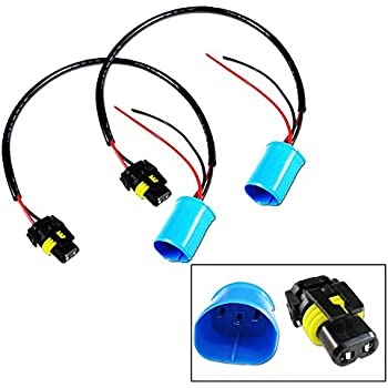 9006 To 9007 Conversion Wires Adapters Headlight Retrofit/HID Kit Installation