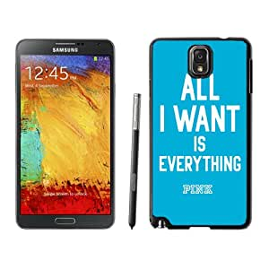 Hot Sale Samsung Galaxy Note 3 Case ,Unique And Lovely Designed With Victoria's Secret Love Pink 83 in Black Samsung Note 3 Cover