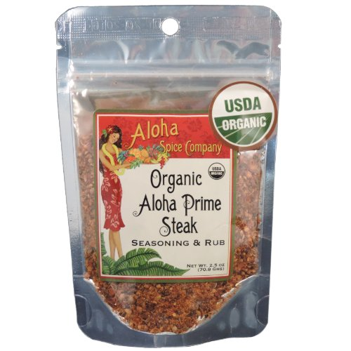 Organic Aloha Prime Steak Seasoning & Rub (4 Pack)