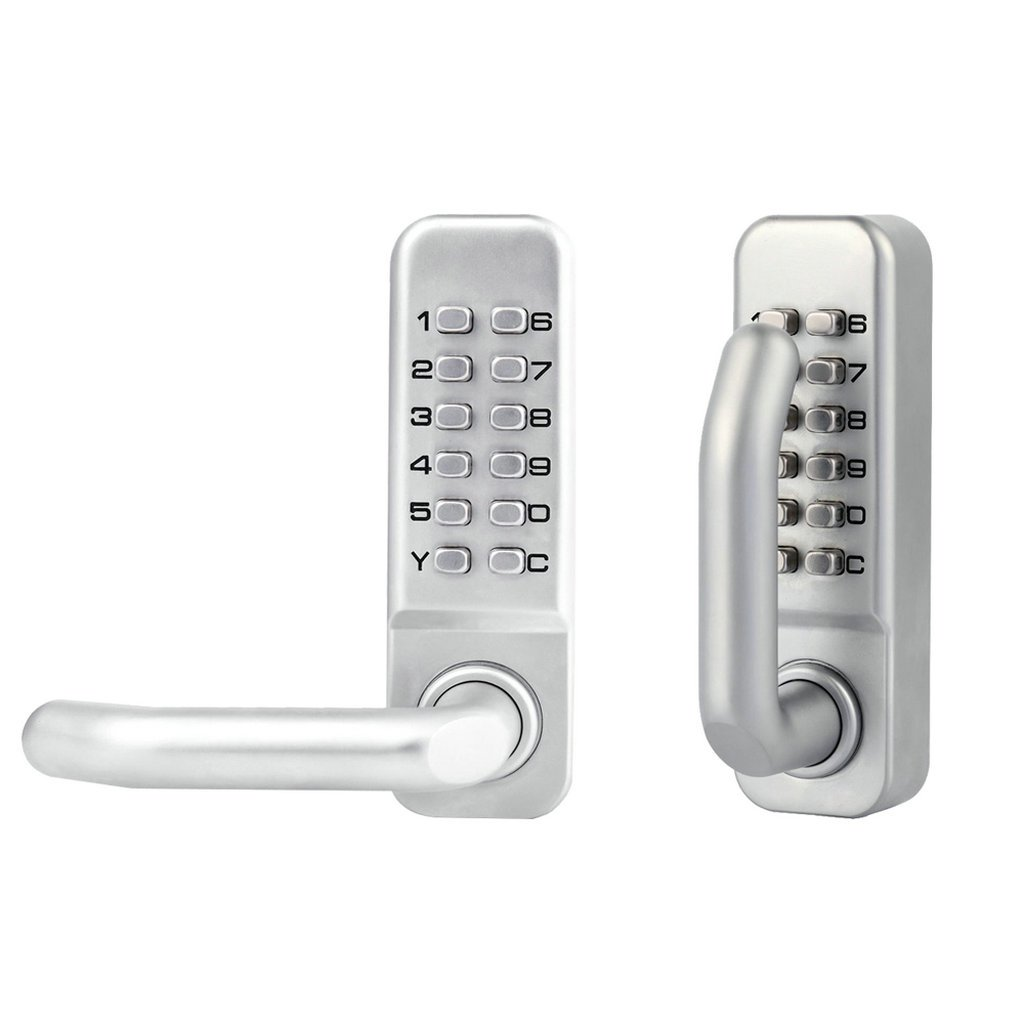 MagiDeal Double-sided Door Lock Mechanical Password Combination Entrance Keyless