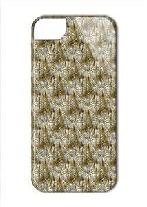Case Fun Apple iPhone 5 / 5S Case - Vogue Version - 3D Full Wrap - Owl Feathers