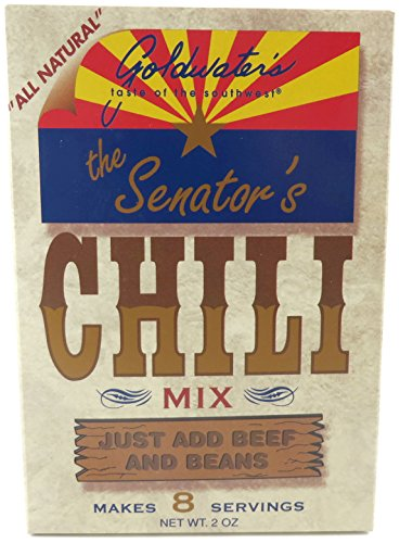 Price comparison product image The Senator's Chili Mix By Goldwater's Foods, 2 Pack