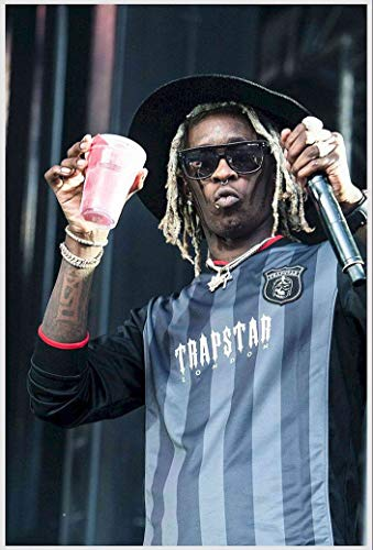 bribase shop Young Thug Rapper Singer Songwriter poster 20 inch x 13 inch