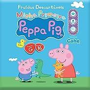 Fralda Prática, Peppa Pig, G, Pacote de 16