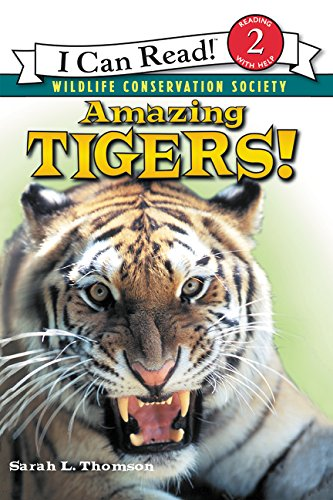 Amazing Tigers! (I Can Read Level 2) (Amazing Sharks)