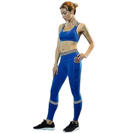 XYAIPR Ropa de Yoga para Mujeres, Transpirable, con Gran ...