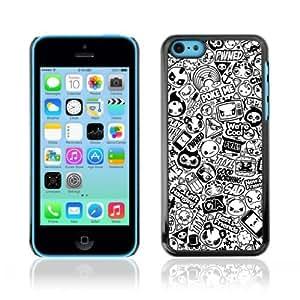 YOYOSHOP [Cool Badass Tattoo Pattern] Apple iPhone 5C Case