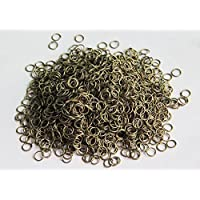 Environ 1900 anneaux ouverts en argent pour création de bijoux 6 mm(environ 100g )