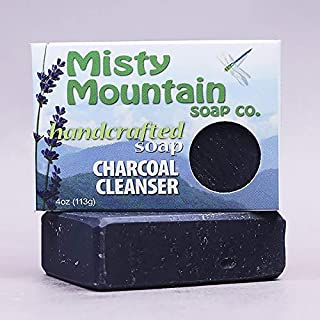 product image for Charcoal Cleanser Handcrafted Bar Soap 100% Natural by Misty Mountain Soap Co.