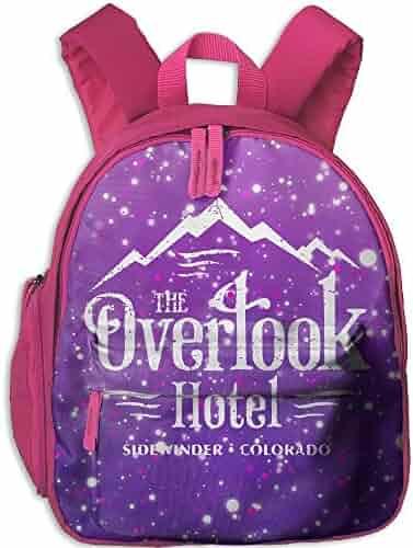 4f534d7edd Overlook Hotel Kids Mini Backpack Shoulder Schoolbag With Front Pockets