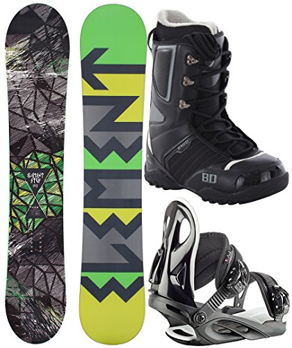 STUF ELEMENT WIDE 157W 2017 inkl. STYLE black + ENIGMA Boot