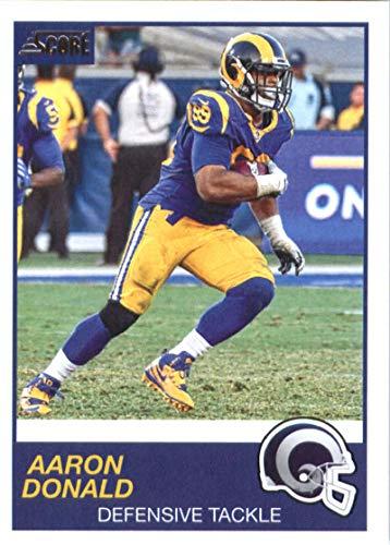 2019 Score #295 Aaron Donald LA Rams NFL Football Card NM-MT