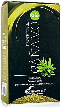 Proteínas de Cañamo ecológico 450 grs / Soria natural: Amazon ...