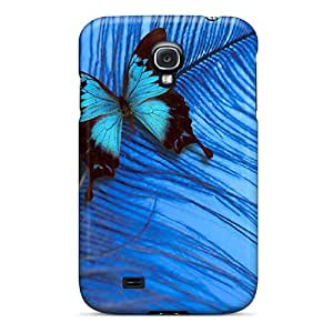 Great Hard Cell-phone Cases For Samsung Galaxy S4 With Provide Private Custom Trendy Butterfly Pattern JamieBratt