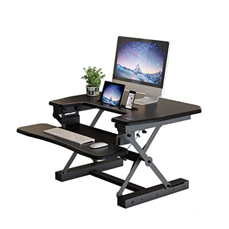 DNZ Lazy - Mesa eléctrica Vertical para el hogar, la Oficina, el ...