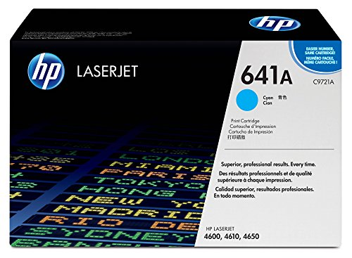 HP 641A (C9721A) Cyan Toner Cartridge for HP Color LaserJet 4600 4650 (Series Toner Cyan 4650)