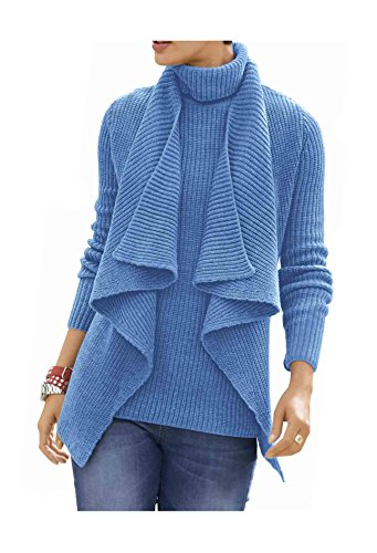 Alba Moda - Cárdigan - Opaco - para mujer Azul