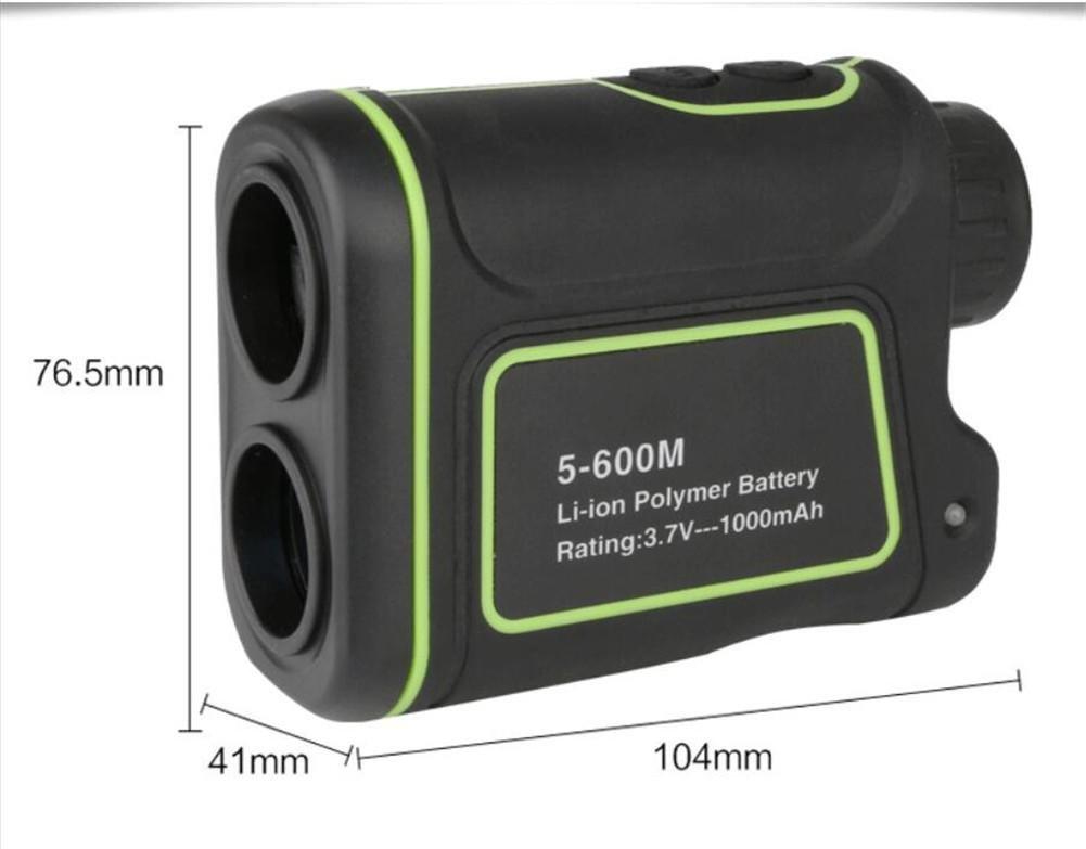 Handheld teleskop entfernungsmesser golf im bereich