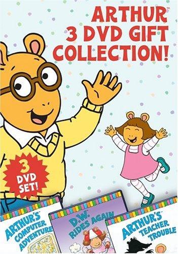 Arthur 3 DVD Gift Collection (Arthur's Teacher Trouble/Arthur's Computer Adventure/D.W. Rides Again) (Adventure Collection Computer)