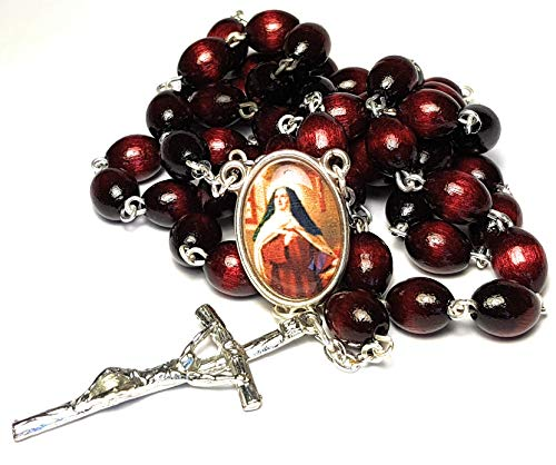 Relic Rosary 3rd Class of Teresa de Avila Saint Teresa of Jesus Patron of Ill People, Headache, Loss of Parents; People in Need of Grace; People in Religious Orders Santa Teresa de Jesús