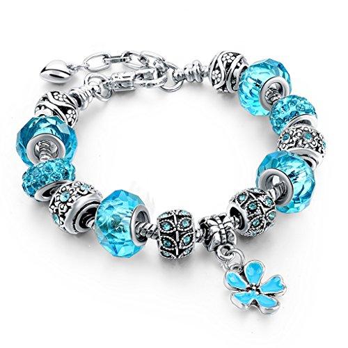 Long Way Silver Plated Bracelet