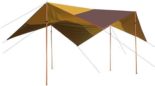 CAIJUN Toldo Impermeable Refugio Playa Lona Carpas De Camping Al ...