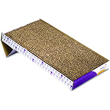 SmartyKat Super Scratcher+ Cat Scratcher Extra Large Corrugated Catnip Scratcher
