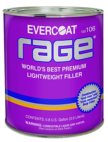 Sand Body Filler - Evercoat 106 Rage Premium Lightweight Body Filler - Gallon