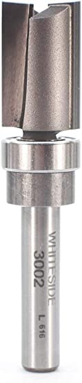 Whiteside Router Bits 3002 Template Bit with Ball Bearing