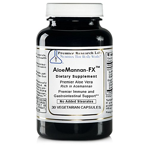 Premier AloeMannan-FX by Premier Research Labs 120 Vcaps (4 Bottles)