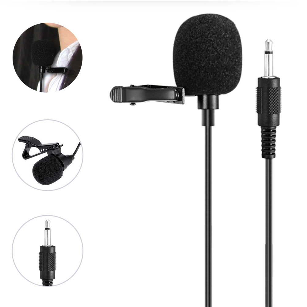 WinBridge Portable Collar Clip Microphone 3.5mm Audio Compatible with All WinBridge Voice Amplifiers S6 by W WINBRIDGE