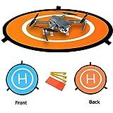 NIUTOP Portable Landing Pad for RC Drones Helicopter DJI Mavic Pro Phantom 3 Phantom 4 Inspire 1 and Quadcopters, 30