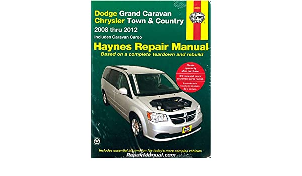 h30014 dodge grand caravan chrysler town country van 2008 2012 rh amazon com 2008 dodge grand caravan repair manual download 2008 dodge grand caravan repair manual download