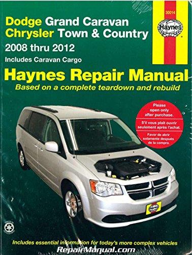 NOS-H30014 Dodge Grand Caravan Chrysler Town Country Van 2008-2012 Haynes Car Repair Manual